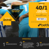 England to beat Croatia 40/1 with Betfair